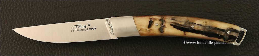 Couteau Le Thiers® Nature Bélier noir