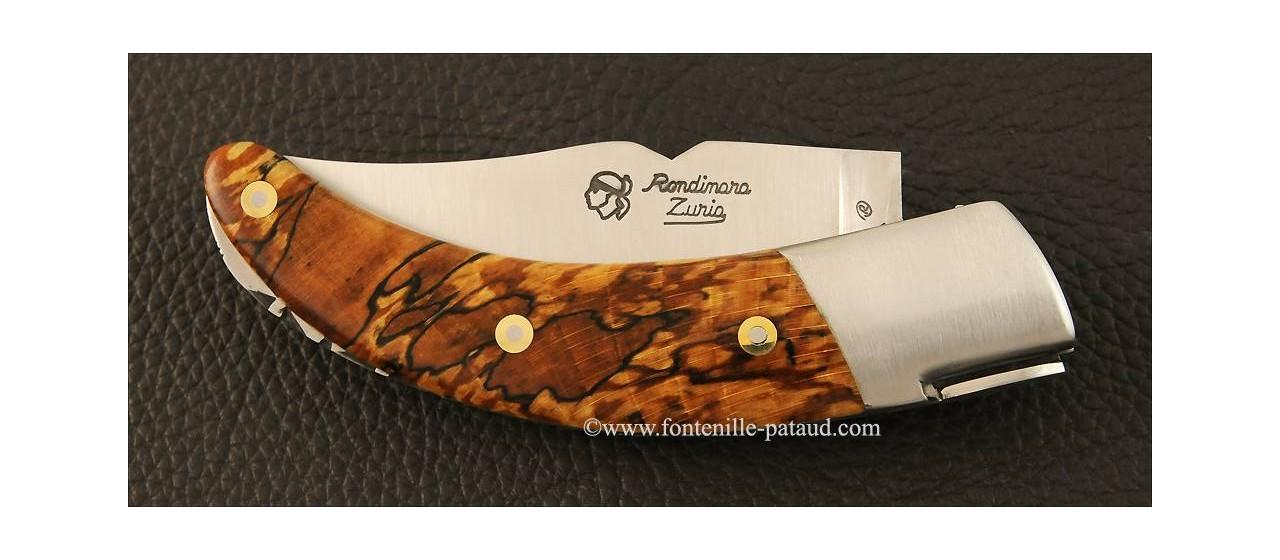 Corsican Rondinara knife classic range stabilized beech