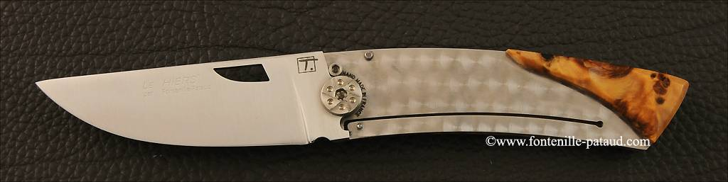 Le Thiers peuplier et liner lock