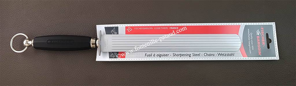 Extra wide Sharpening steel 28 cm - Extra fine cut
