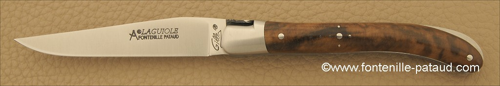Laguiole Knife Le Pocket Classic Range Walnut