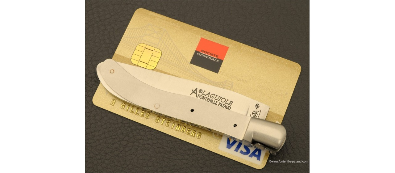 Laguiole Knife XS Guilloche Range real stag