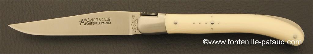Laguiole Knife Le Pocket Classic Range Real ivory