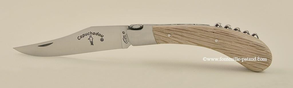 """""""Le Capuchadou"""" 12 cm Corkscrew, oak"""