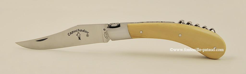 Le Capuchadou 12 cm Tire-bouchon, Buis