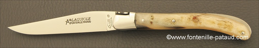 Laguiole Knife Le Pocket Classic Range Ram Horn