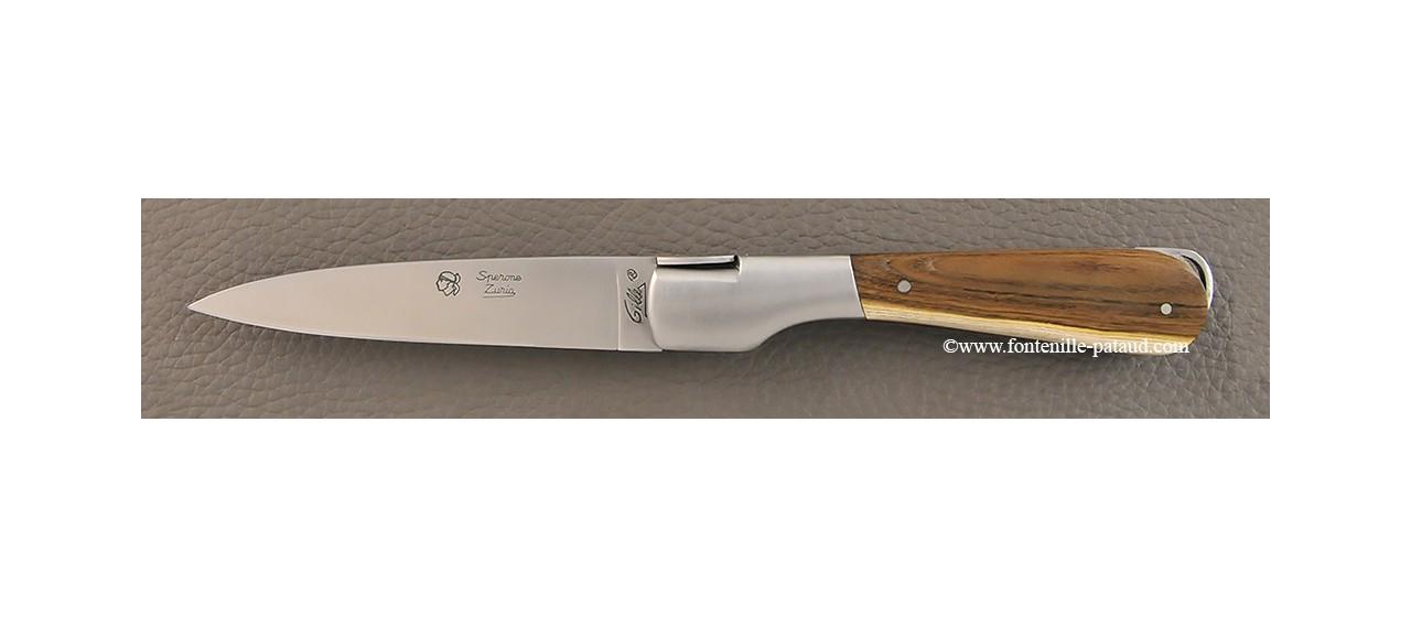 Corsican knife Le Sperone Pistaccio wood