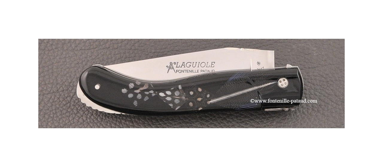 Laguiole sport knife full feather
