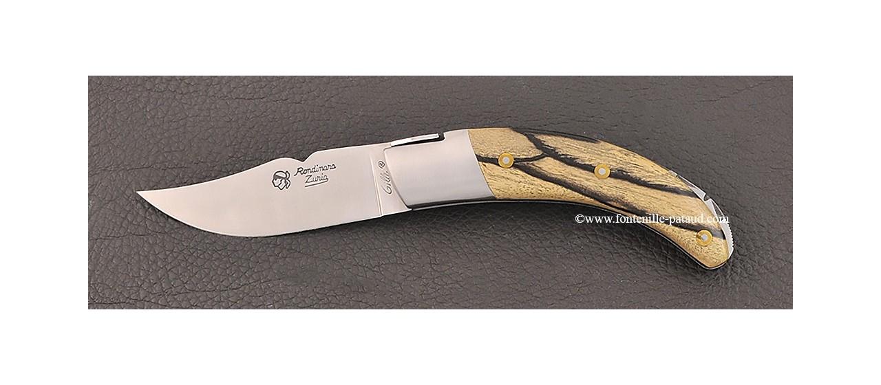 Corsican Rondinara knife classic range royal ebony