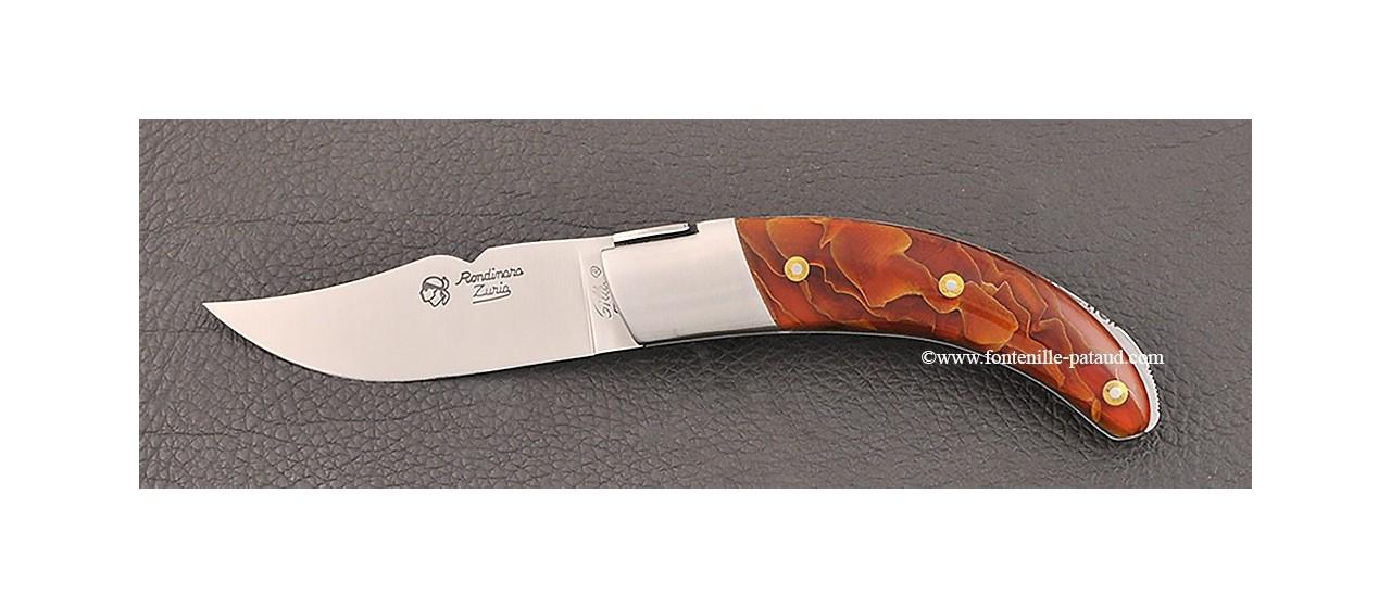 Couteau le Rondinara Laiton