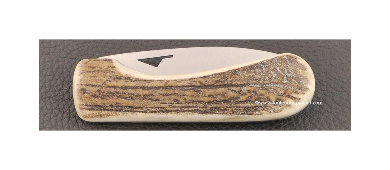 Corsican U Cumpa knife Classic range real stag horn