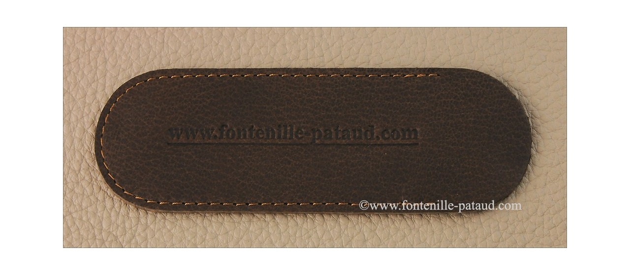 Corsican U Cumpa knife Classic range Bufflalo bark