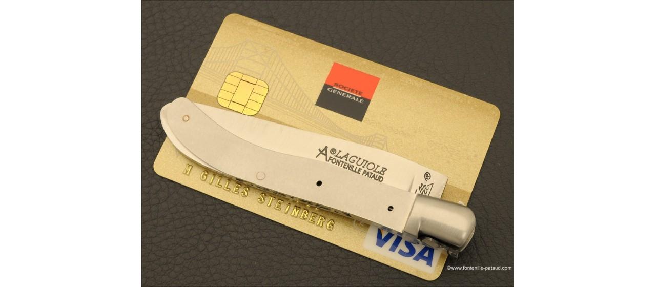 Couteau Laguiole XS Classique Loupe de peuplier stabilisée