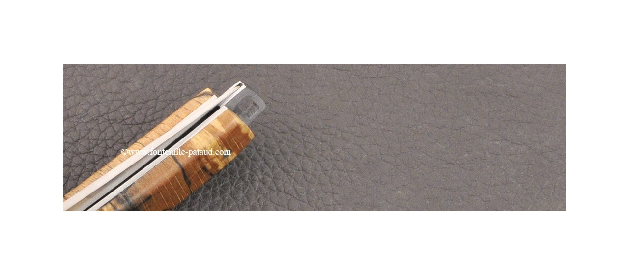 Le Thiers® Nature knife Stabilized beech handle