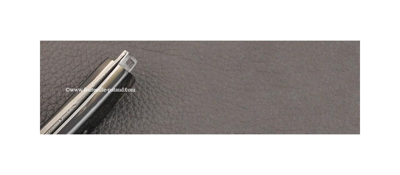 Couteau Le Thiers® Pocket Damas Bélier noir