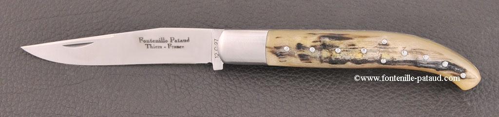 Basque knife Ram horn