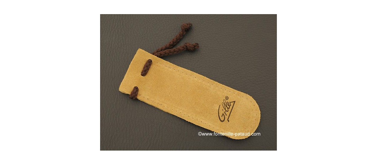 Laguiole Knife XS Guilloche Range Olivewood