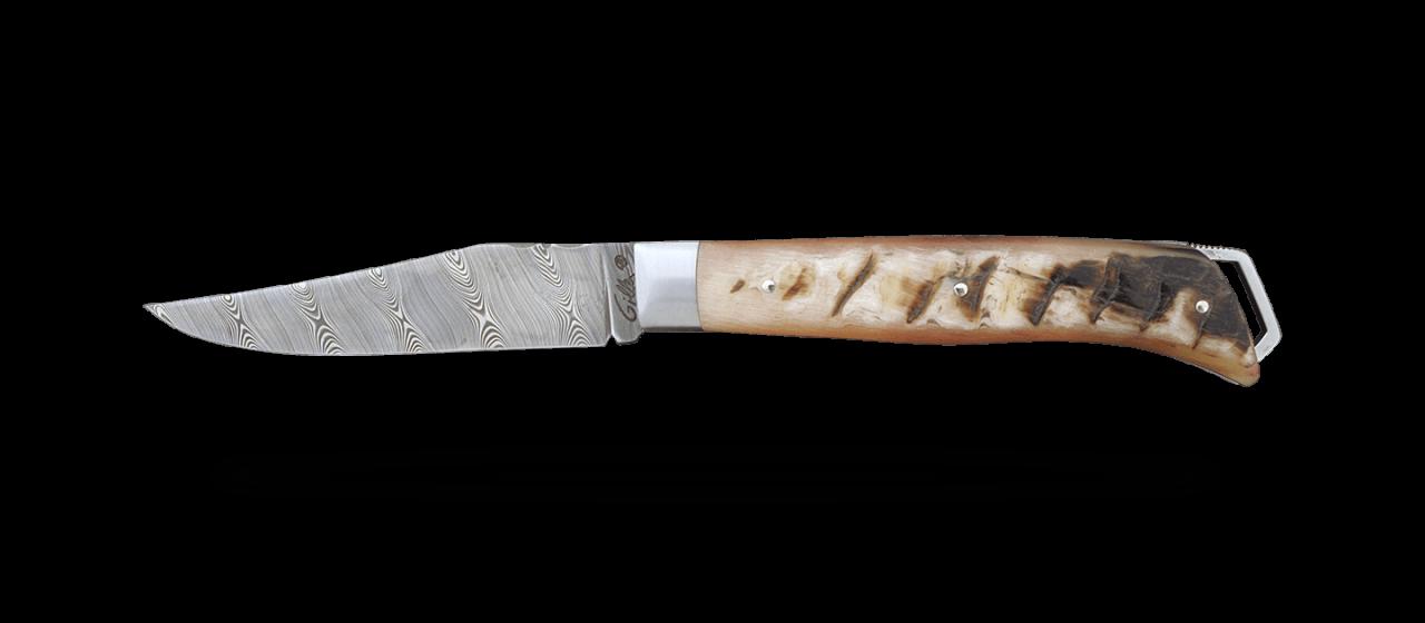 Le Saint-Bernard 11 cm Damas Corne de Bélier