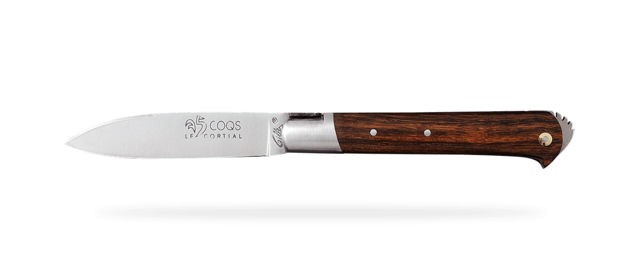 5 Coqs knife Classic Range Ironwood