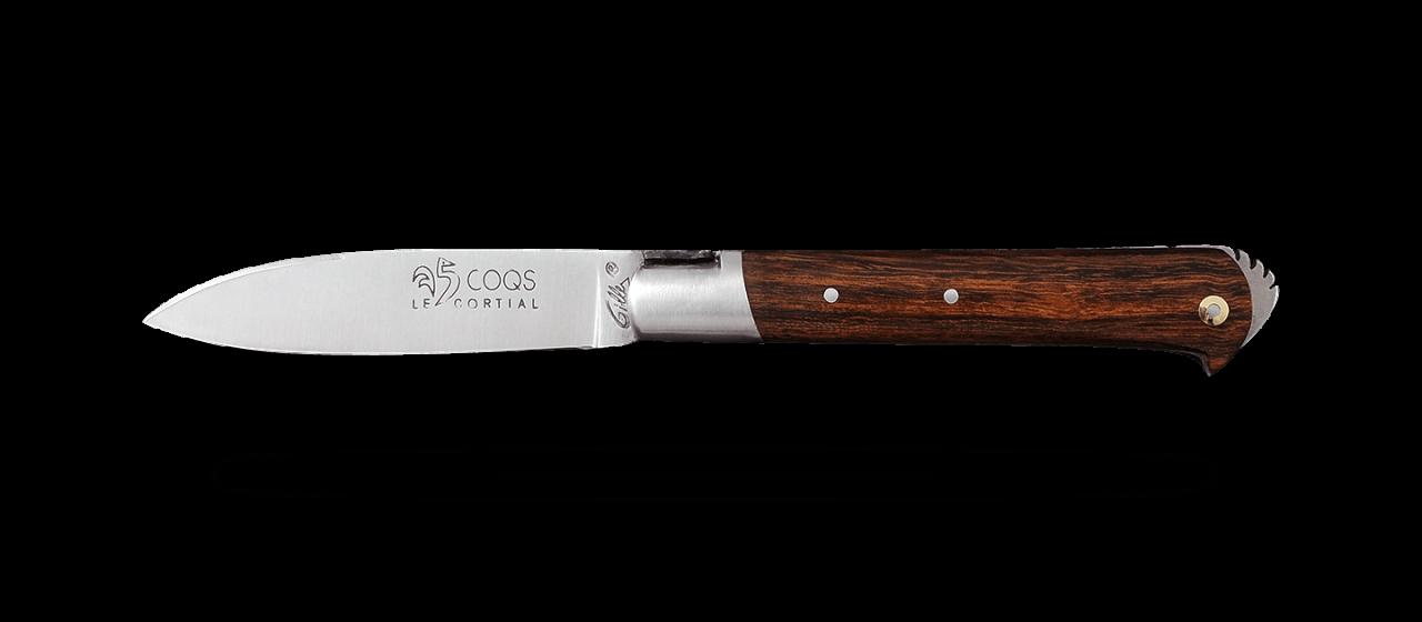 5 Coqs knife Classic Range Ironwood