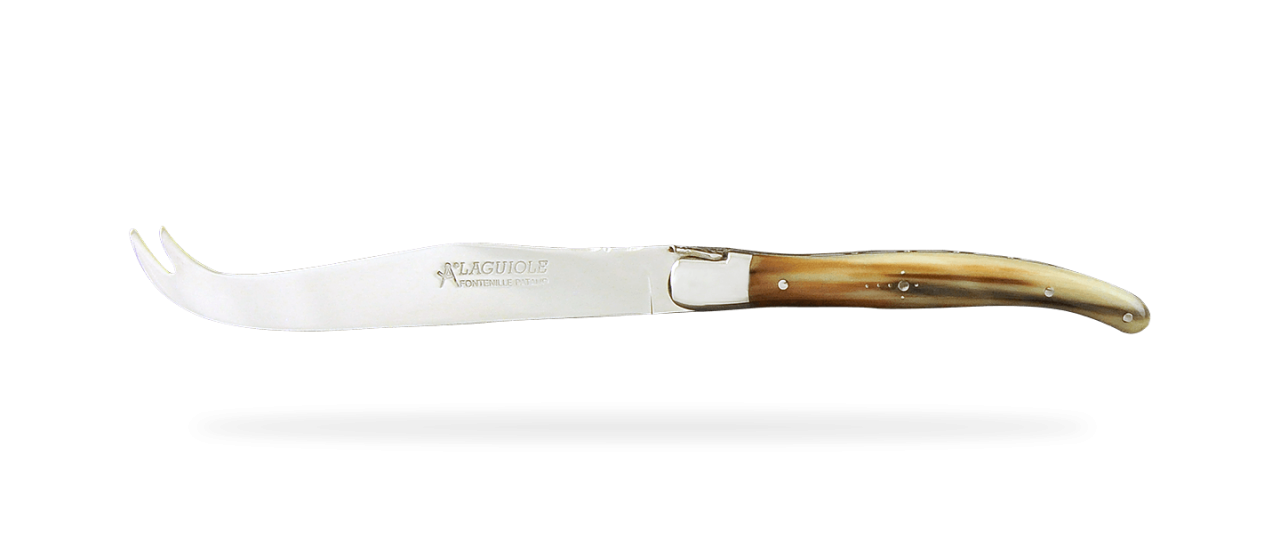 Laguiole Cheese Knife Real horn tip