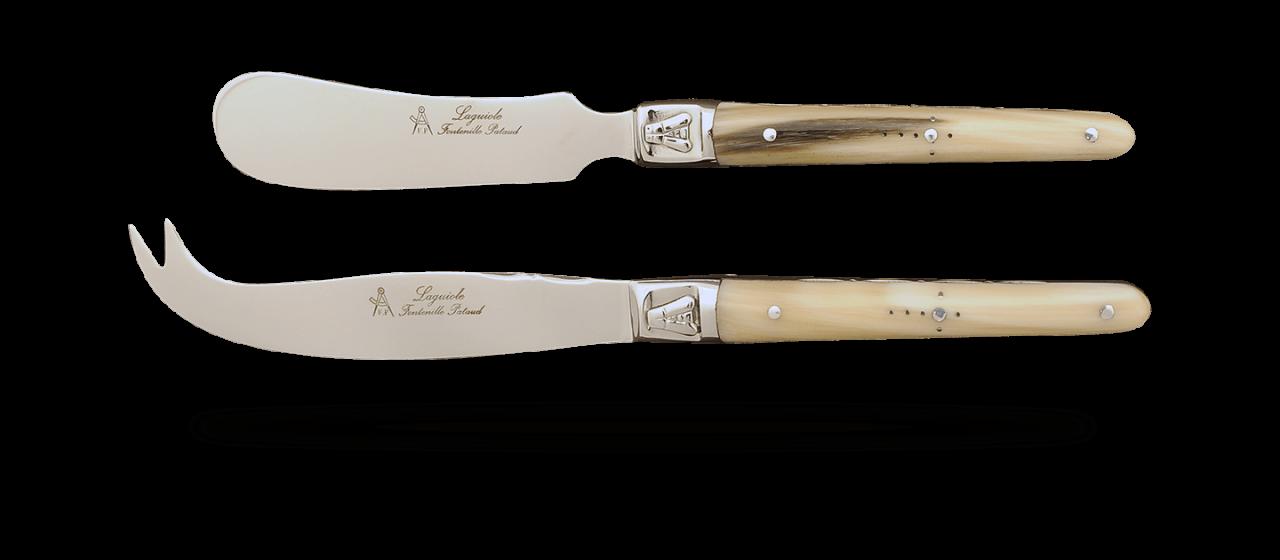 Service Laguiole Beurre et Fromage Pointe de corne