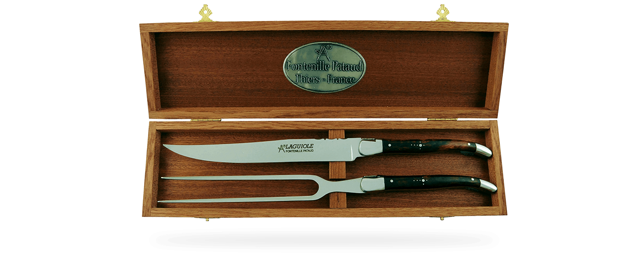 Laguiole Carving Set Ironwood