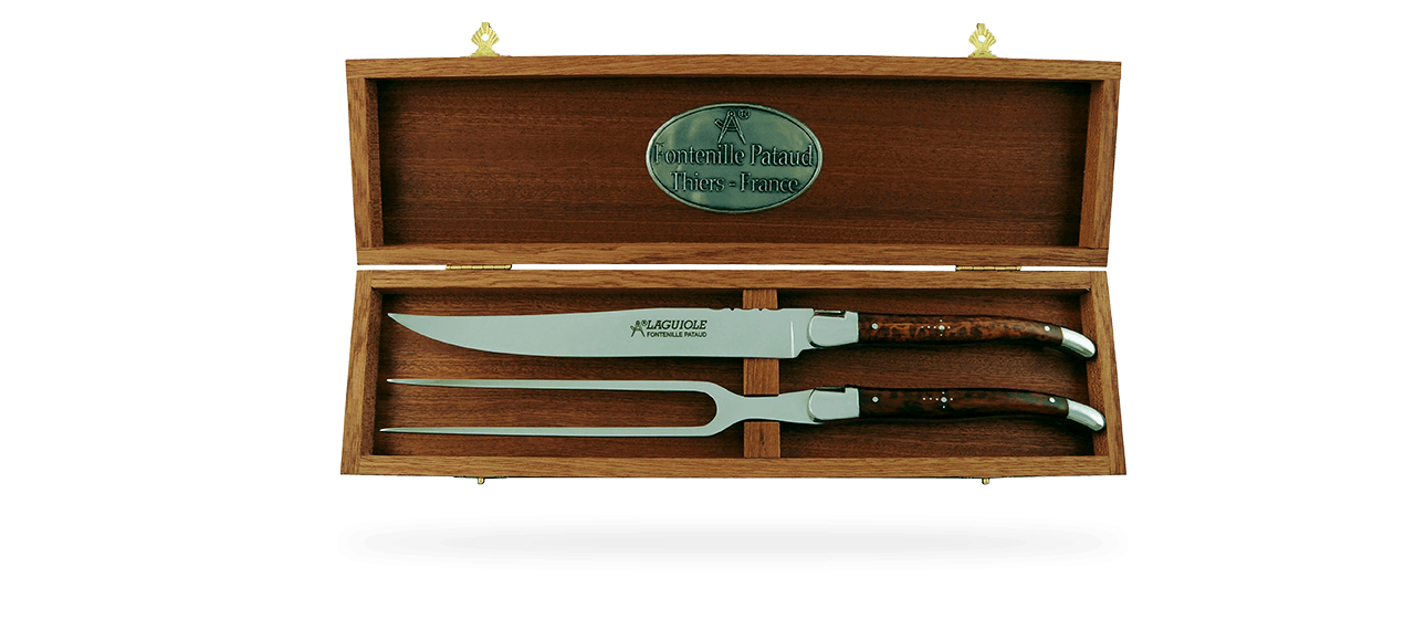Laguiole Carving Set Amourette