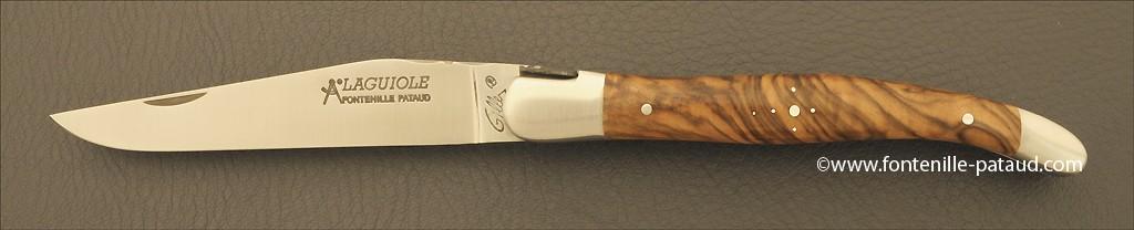 Amazing laguiole knife walnut handle