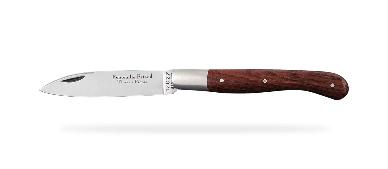 Aurillac shepherd's knife Purplewood
