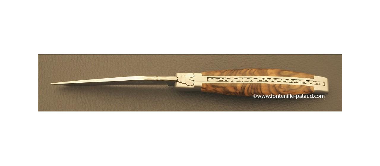 Amazing laguiole knife walnut handle