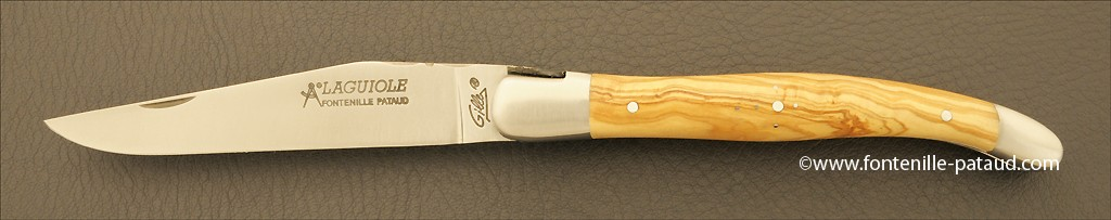 Laguiole knife olivewood from south of France