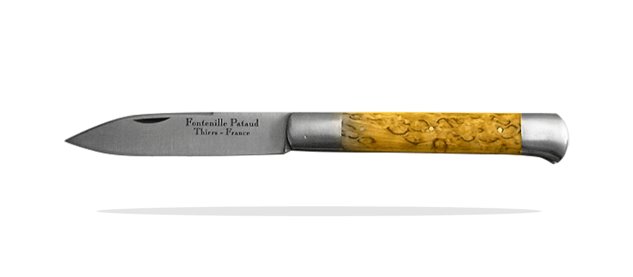 Roquefort shepherd's knife Curly birch