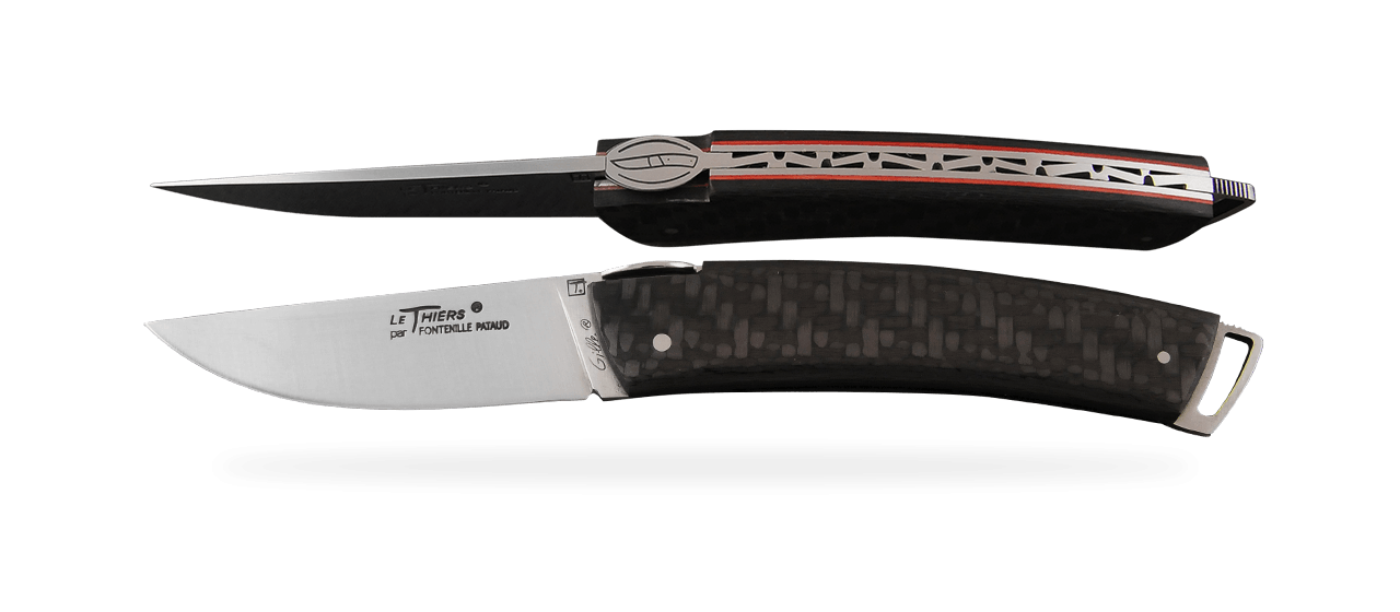 Le Thiers® Gentleman Carbon fiber Red
