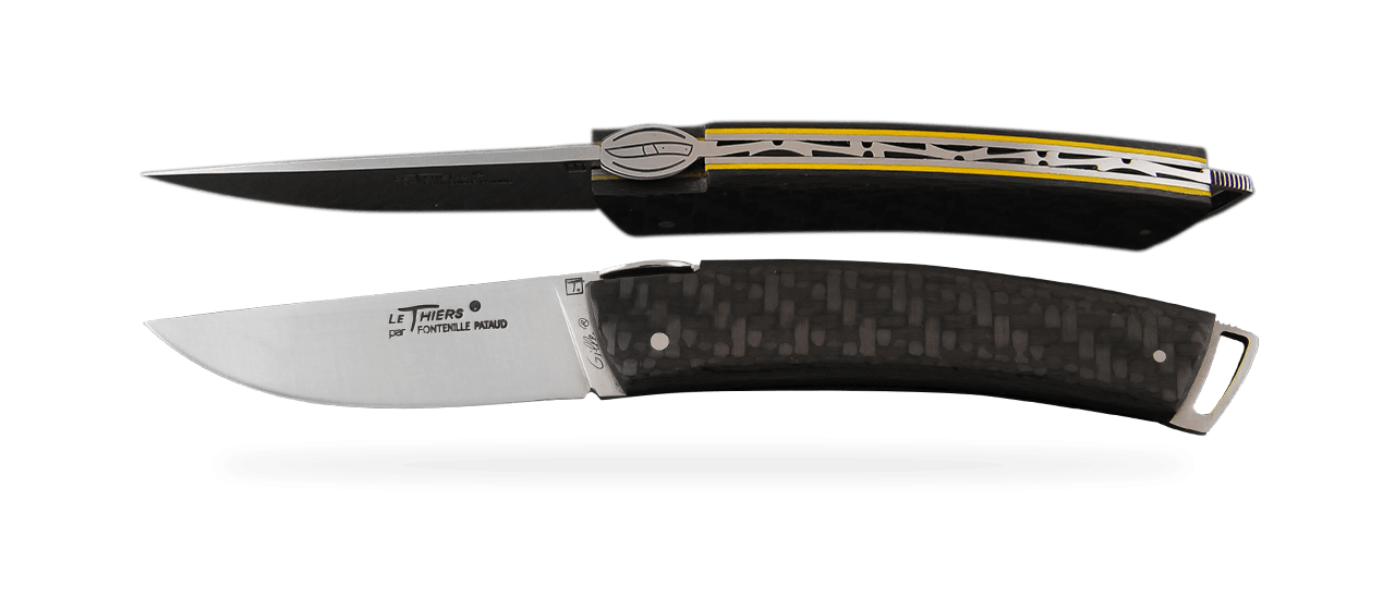 Le Thiers® Gentleman Carbon fiber Yellow