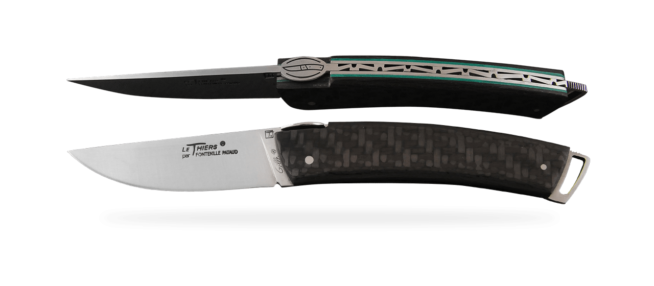 Le Thiers® Gentleman Carbon fiber Green