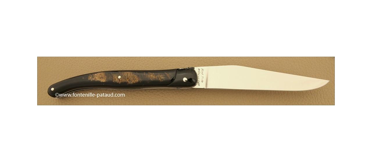 Buffalo laguiole knife and traditional bee