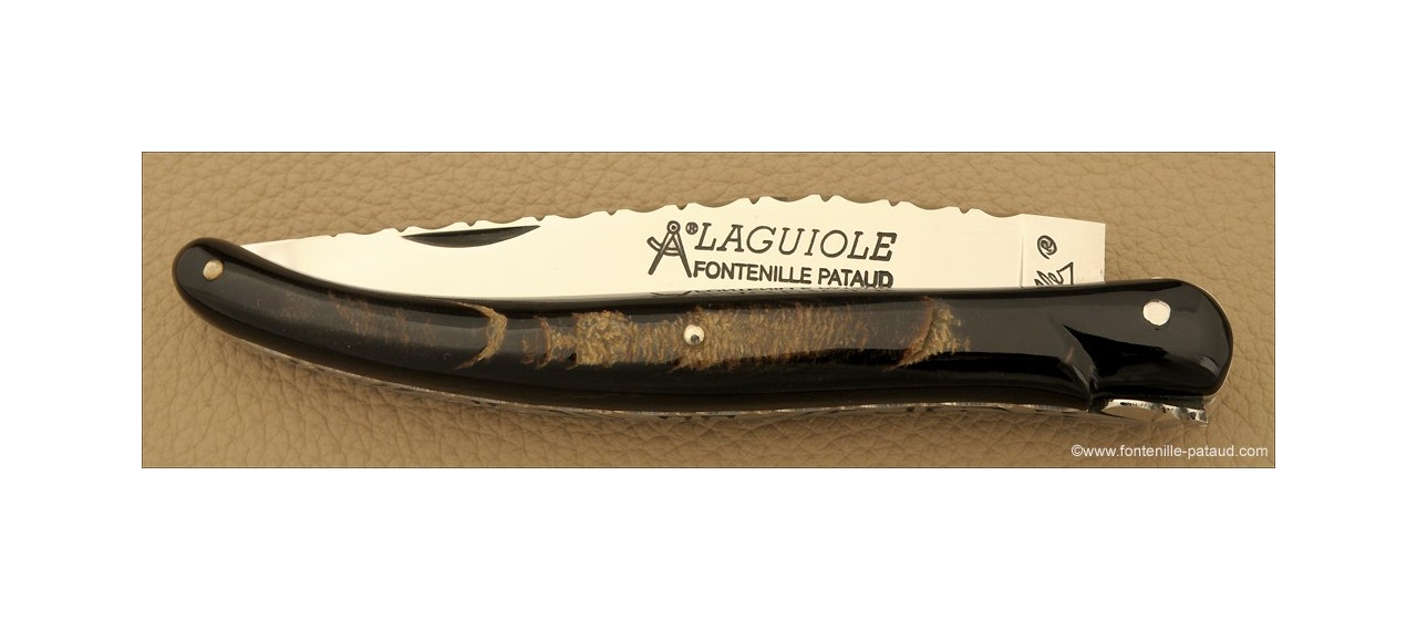 Laguiole knife full buffalo horn