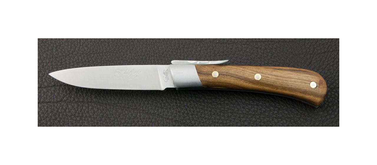 Couteau en pistachier de Corse