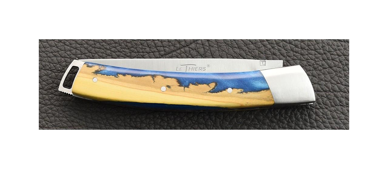 Couteau Le Thiers® Nature Hybride Buis fabrication artisanale en France