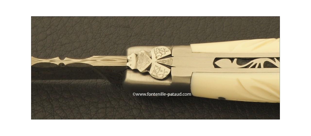 Véritable couteau de laguiole d'artiste