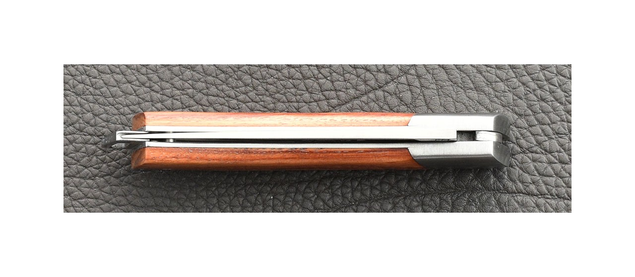 Le Thiers® Nature knife rosewood handle made in France by Fontenille Pataud