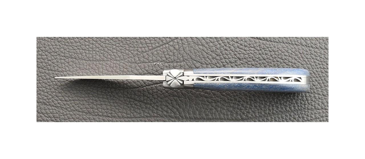 """Le Capuchadou"" 10 cm hand made knife, old laguiole knife"