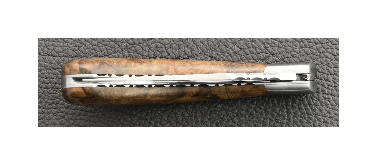 """Le """"Capuchadou - Guilloché"""" 12  cm, ébène"""