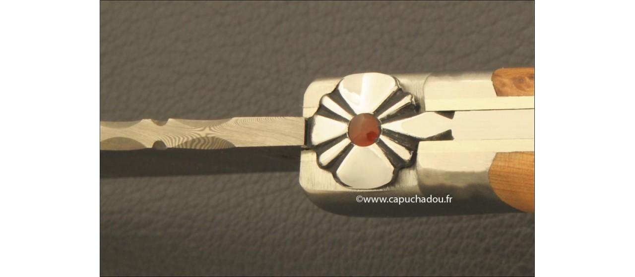 Le Capuchadou® Guilloché 12 cm, Genévrier & Damas
