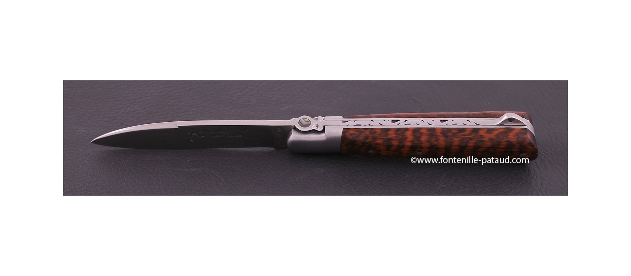 Couteau artisanal Yssingeaux Classique Amourette