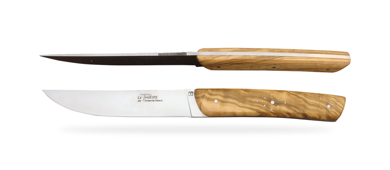 Set of 2 Le Thiers® knives Olivewood