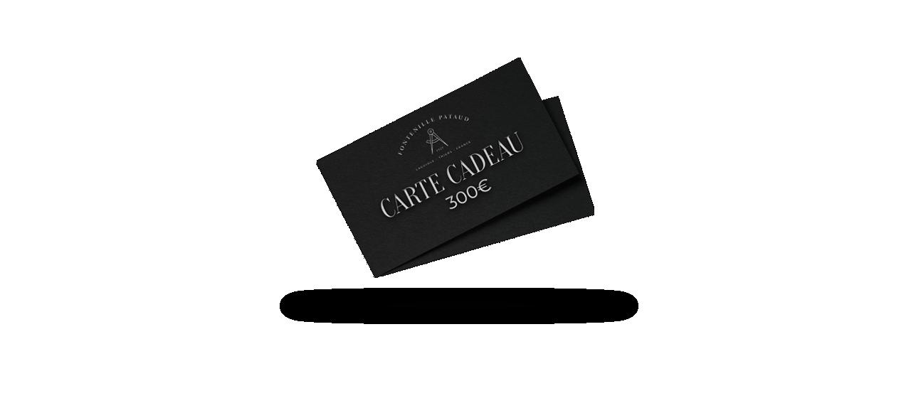 Gift card 300€