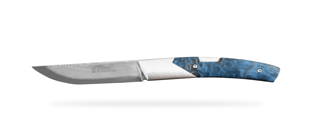 Le Thiers® Advance VG10 Loupe de peuplier bleue