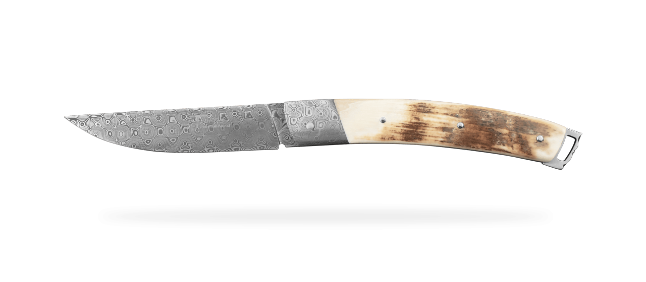 Le Thiers® Nature Damascus Mammoth Ivory